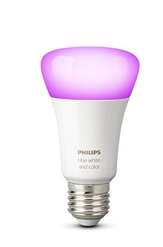 Philips Hue White and Color Ambiance – Bombilla inteligente