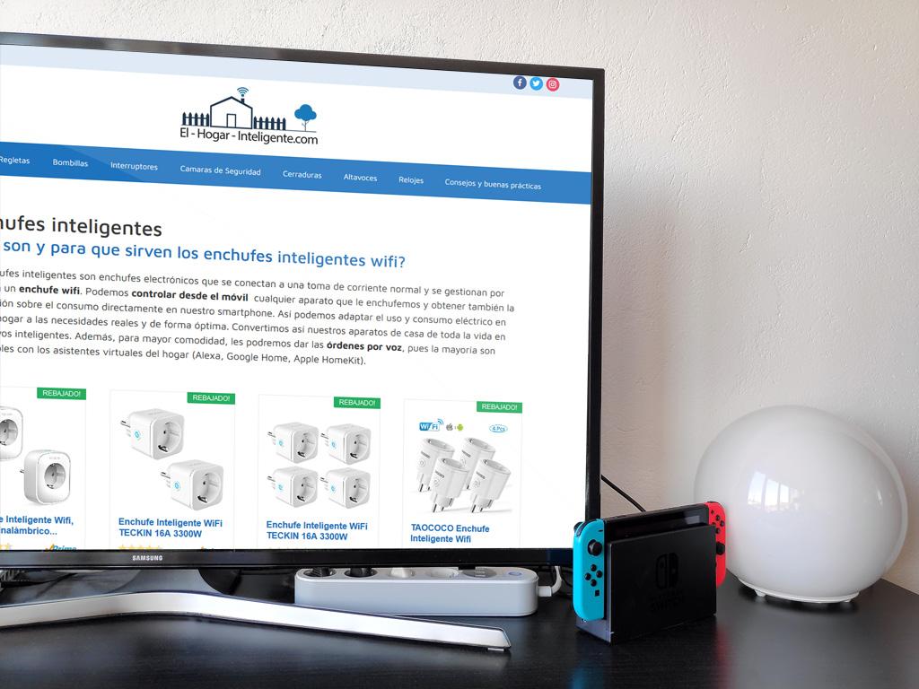 regleta inteligente tv videoconsola