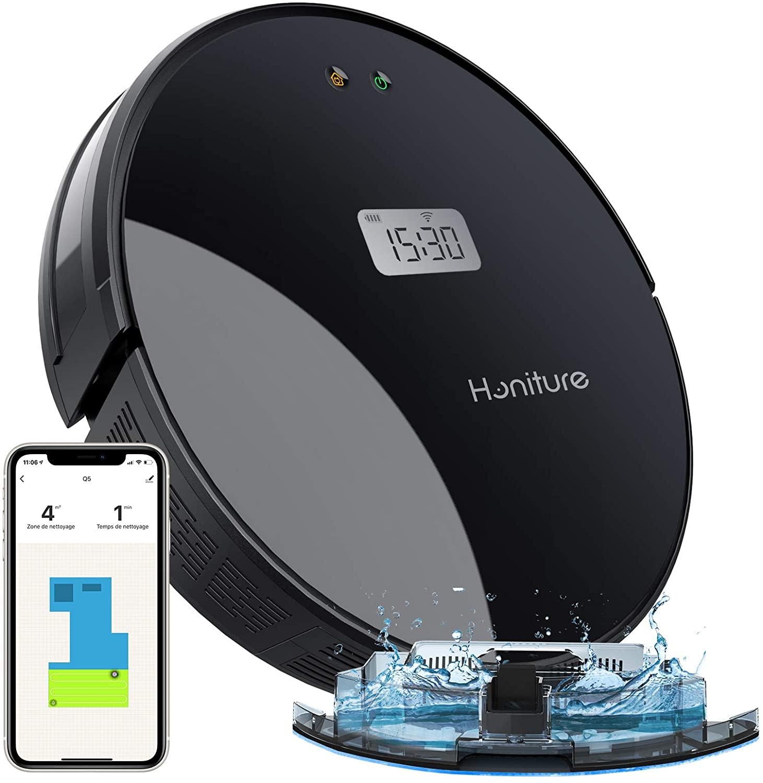Robot aspirador inteligente HONITURE 2 en 1