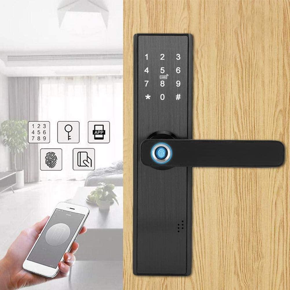 Olvídate de tener que sacar tus llaves para abrir la puerta. ¡Házte con una cerradura inteligente para mayor seguridad y comodidad!