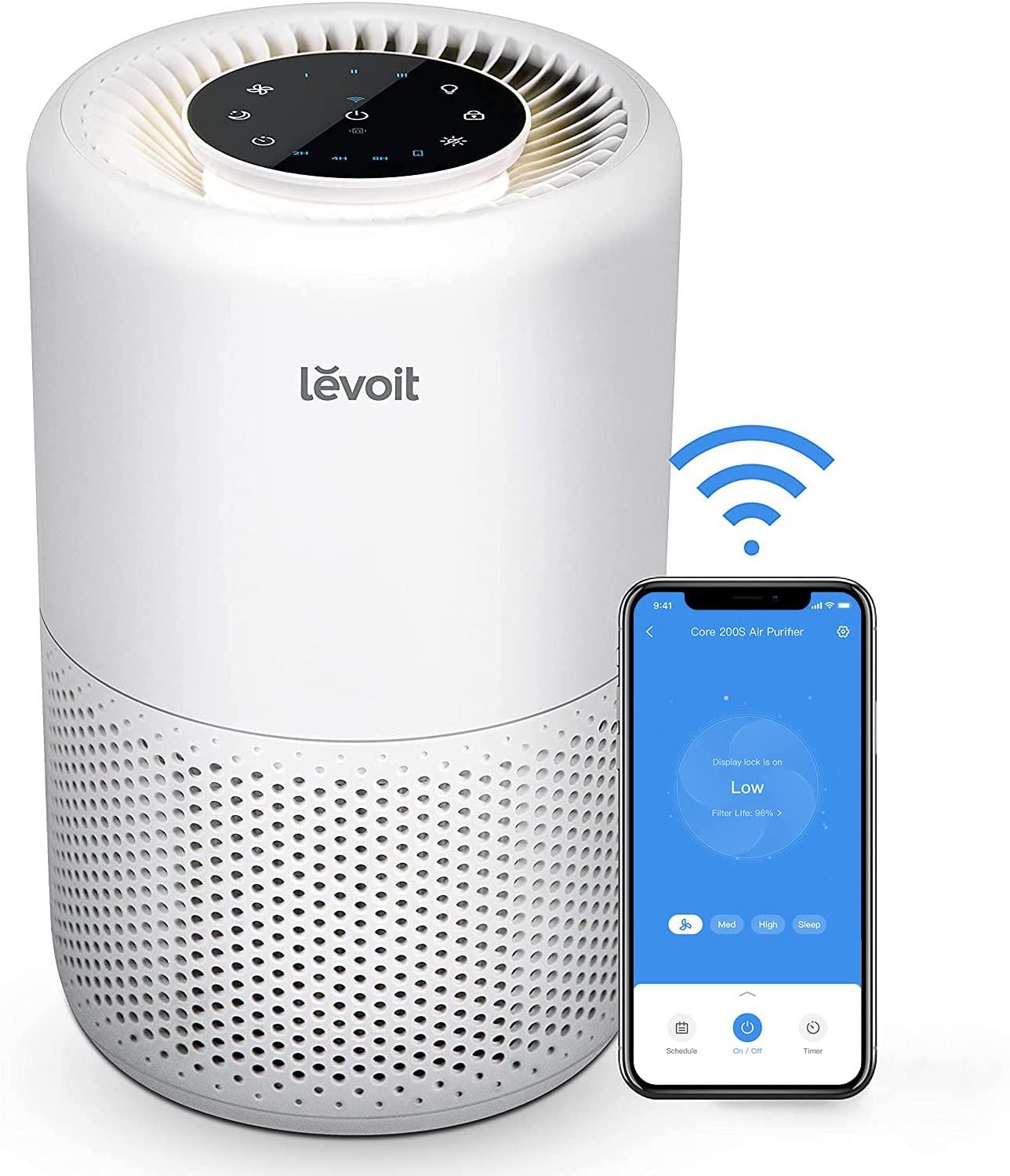 Purificador de Aire Inteligente wifi LEVOIT